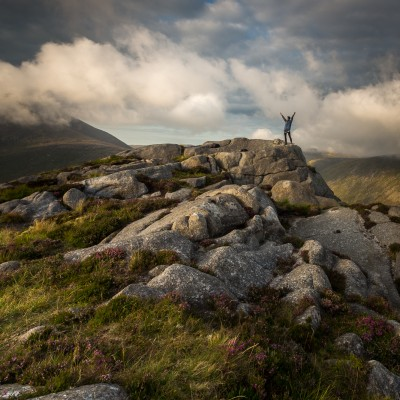 Mournes view II