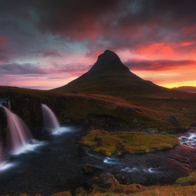 Kirkjufell.Iceland